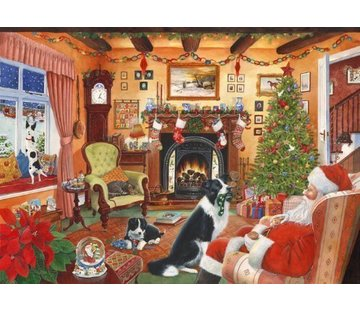 The House of Puzzles No.7 - Me Too Santa Puzzel 500 Stukjes