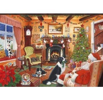 The House of Puzzles No.7 - Moi aussi 500 Père Noël Puzzle Pieces