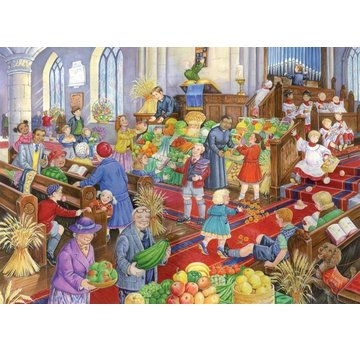 The House of Puzzles Harvest Festival Puzzle 500 Pieces