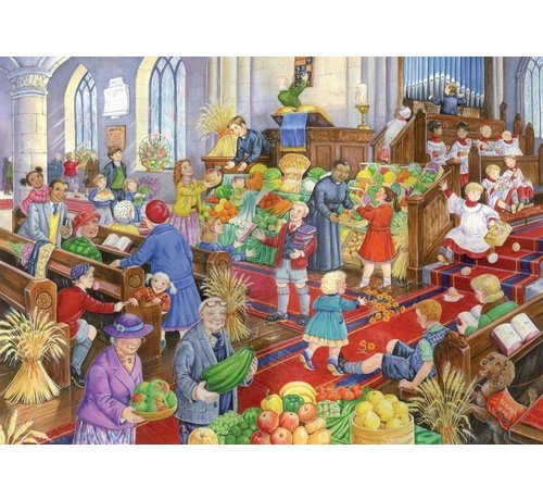 The House of Puzzles Harvest Festival Puzzel 500 Stukjes