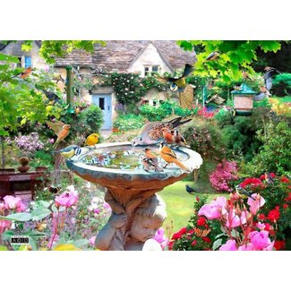 The House of Puzzles Summer Birds Puzzle 500 Pieces