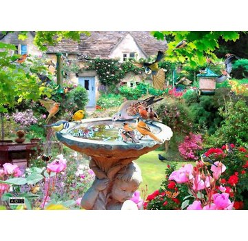 The House of Puzzles Puzzle Sommer-Vogel-500 Stück