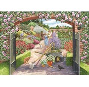 The House of Puzzles Walled Garden Puzzel 500 Stukjes
