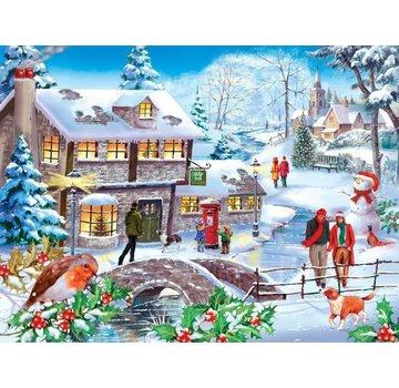 The House of Puzzles Marche d'hiver 500 Puzzle Pieces