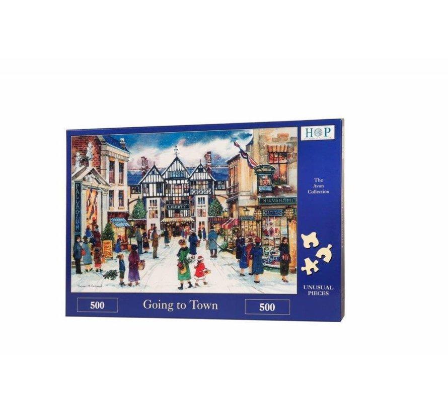 Aller à la ville 500 Puzzle Pieces