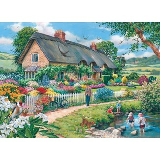 The House of Puzzles Lazy Days 500 Puzzle Pieces