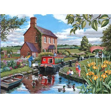 The House of Puzzles Keepers Cottage 500 Puzzle Pieces