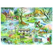 The House of Puzzles All Seasons Puzzel 500 Stukjes