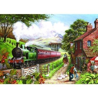 The House of Puzzles Country Crossing Puzzel 500 Stukjes