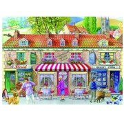 The House of Puzzles Friday Street 500 Puzzle Pieces