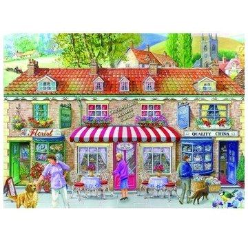 The House of Puzzles Friday Street Puzzel 500 Stukjes