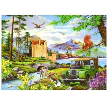 The House of Puzzles Hooked 500 Pièces Puzzle