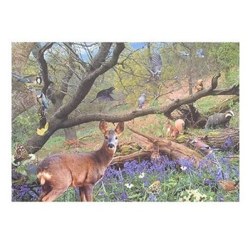 The House of Puzzles Bluebell-Holz Puzzle 500 Stück