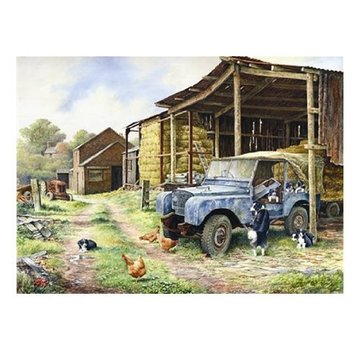 The House of Puzzles Mobile Home Puzzel 500 Stukjes