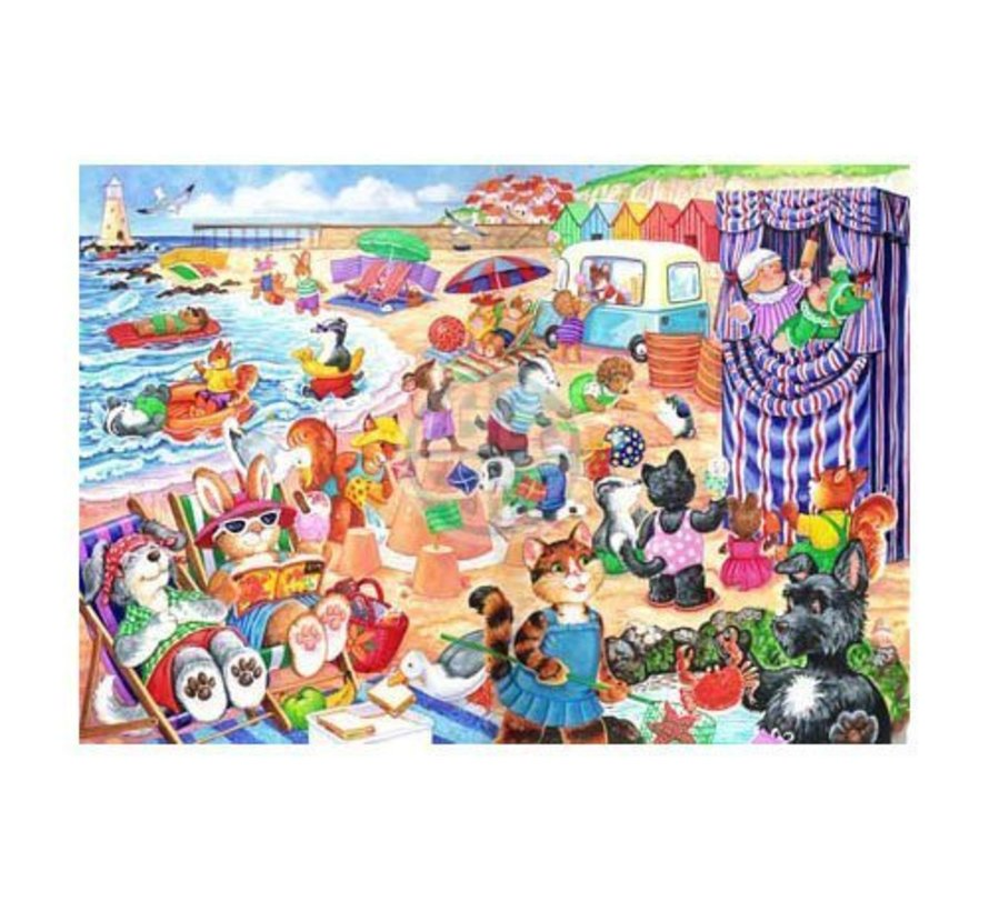 At The Seaside Puzzel 80 Stukjes XL
