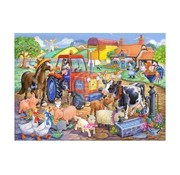 The House of Puzzles Farm Friends Puzzel 80 Stukjes