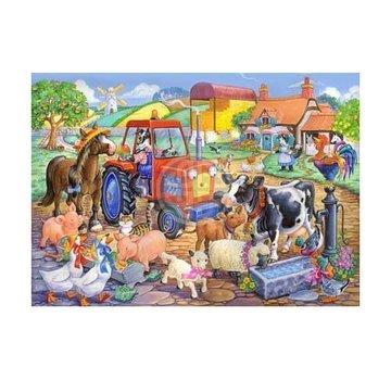 The House of Puzzles Farm Friends Puzzle 80 pieces