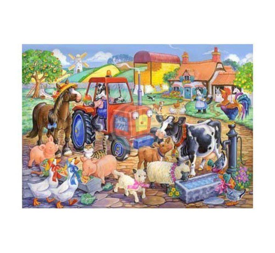 Puzzle Farm Freunde 80 Stück