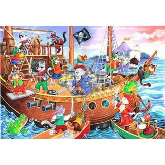 The House of Puzzles Pirates Ahoy 80 Puzzle-Teile