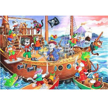 The House of Puzzles Pirates Ahoy Puzzel 80 Stukjes