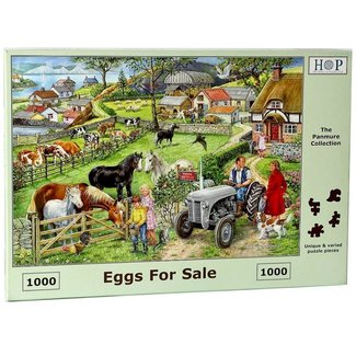The House of Puzzles Eggs For Sale Puzzel 1000 stukjes