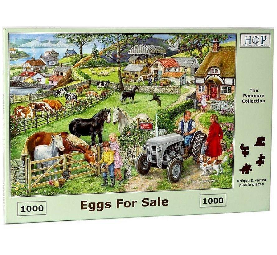 Eggs For Sale Puzzel 1000 stukjes