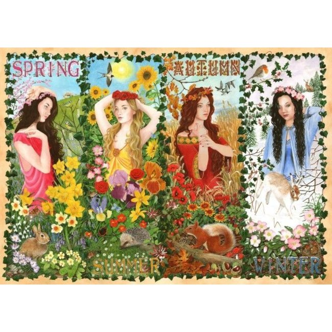 The House of Puzzles Four Seasons Puzzle 1000 Stück