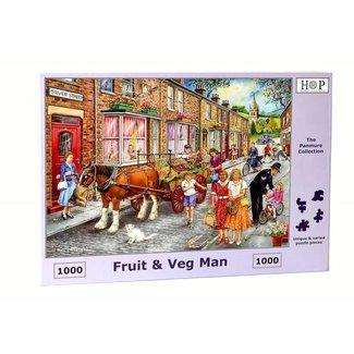 The House of Puzzles Fruit & Veg Man Puzzel 1000 stukjes