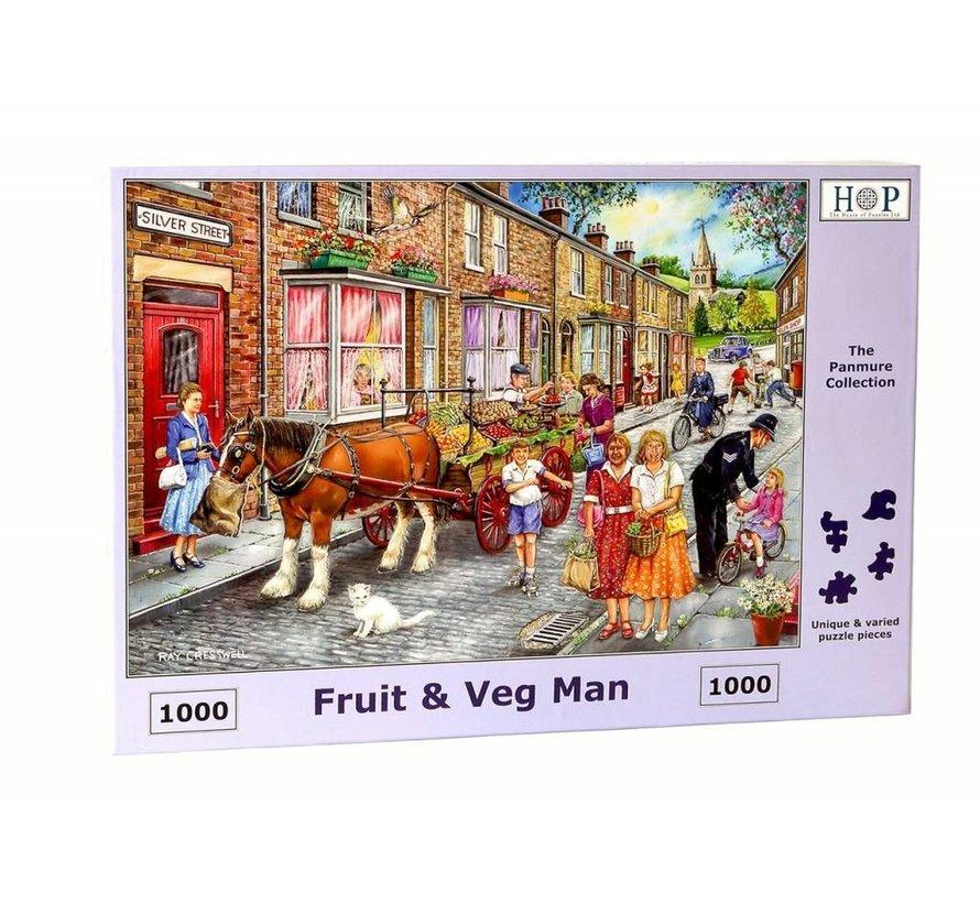 Fruit & Veg Man Puzzel 1000 stukjes