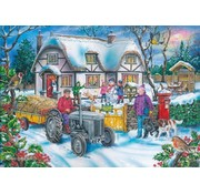 The House of Puzzles Holly Cottage Puzzle 1000 pieces