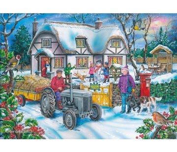 The House of Puzzles Holly Cottage Puzzel 1000 stukjes