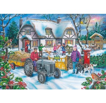 The House of Puzzles Holly Cottage Puzzle 1000 Stück