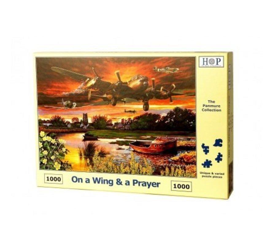 On a Wing & a Prayer Puzzel 1000 stukjes