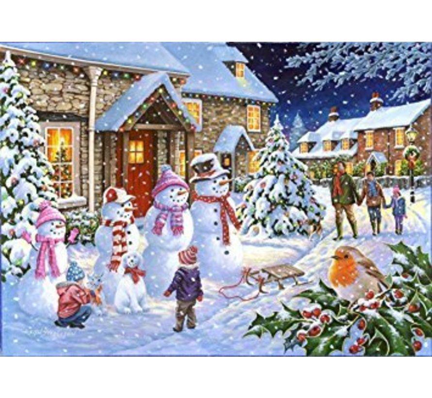 Snow Family Puzzel 1000 stukjes