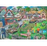 The House of Puzzles Wartime Green Puzzle 1000 pieces
