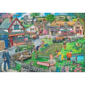 The House of Puzzles Wartime Green Puzzel 1000 stukjes