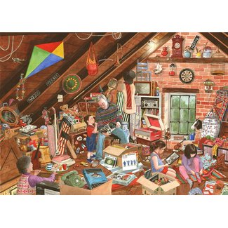 The House of Puzzles What's That Grandpa? Puzzel 1000 stukjes