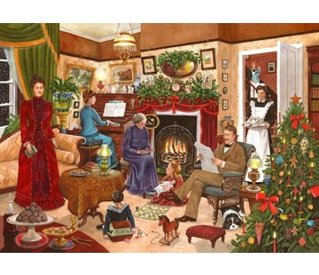 The House of Puzzles No.12 Christmas Past Puzzel 1000 stukjes