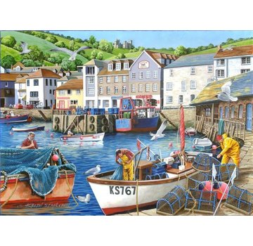 The House of Puzzles No.12 Busy Harbour Puzzel 1000 stukjes