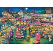 The House of Puzzles No.13 Village Fayre Puzzel 1000 stukjes