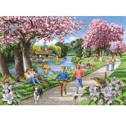 The House of Puzzles Apple Blossom Time Puzzle 500 pieces XL