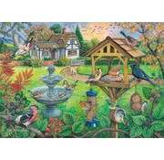 The House of Puzzles Birdtable Puzzle 500 pieces XL