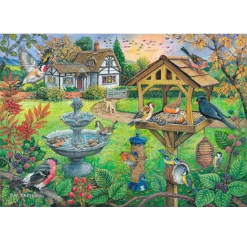 The House of Puzzles Bird Table Puzzel 500 XL stukjes