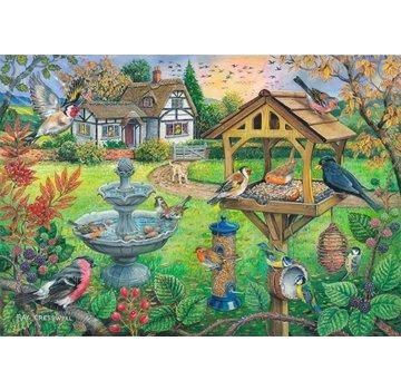 The House of Puzzles Birdtable Puzzle 500 Stück XL