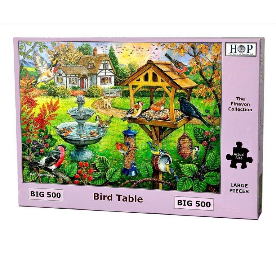 Bird Table Puzzel 500 XL stukjes