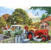 The House of Puzzles Bob & His Dog Puzzle 500 pieces XL