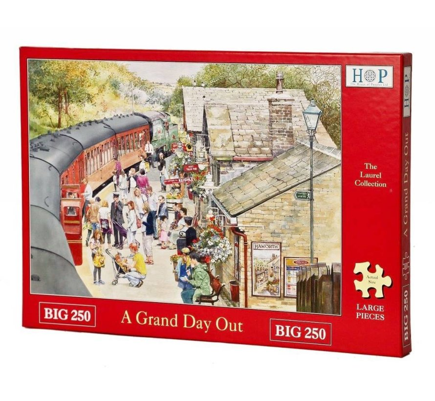 Ein Groß Day Out Puzzle 250 Stück XL