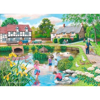 The House of Puzzles Duck Pond Puzzle 250 pieces XL