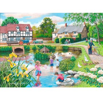 The House of Puzzles Duck Pond Puzzle 250 pièces XL