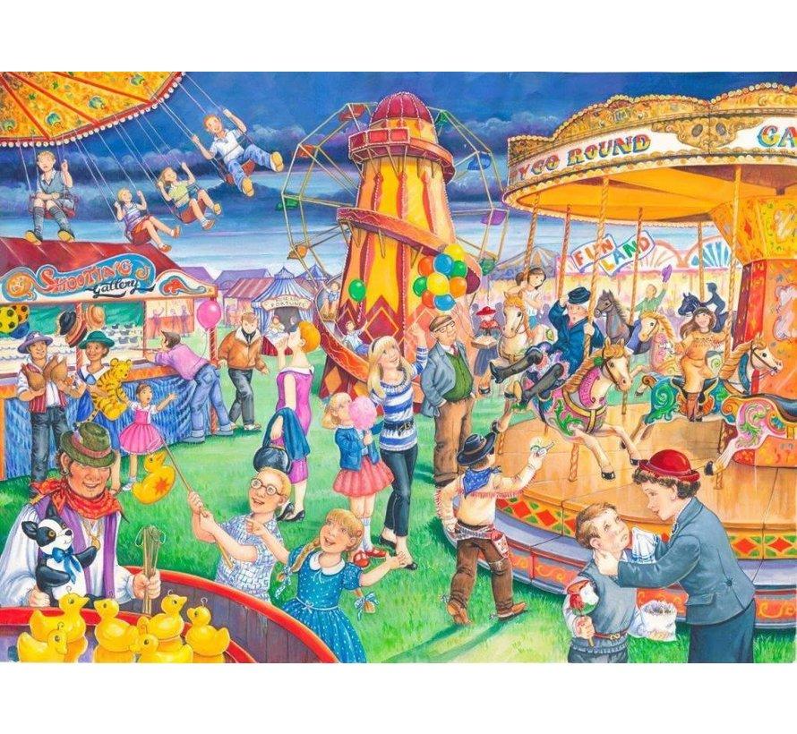 Fairground Rides Puzzel 250 XL stukjes